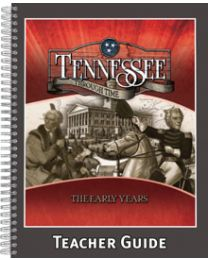 Tennessee Through Time, The Early Years Teacher Guide 2014
