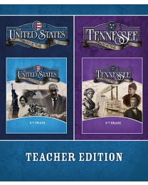 United States / Tennessee Through Time Teacher Edition Textbook